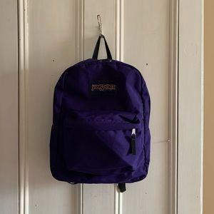 Purple Jansport Backpack